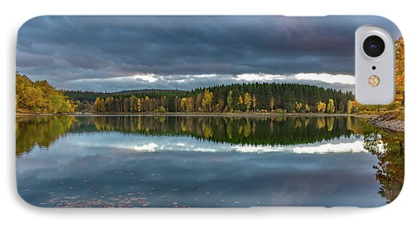 An Autumn Evening At The Lake IPhone Case by Andreas Levi