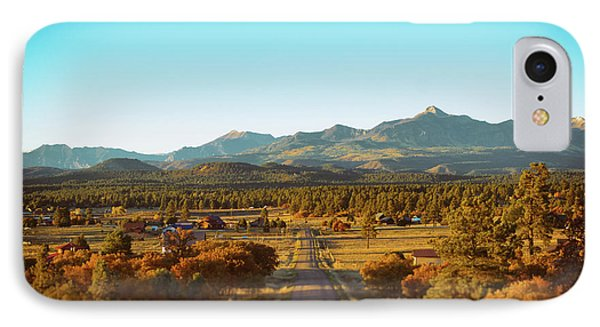 An Autumn Evening In Pagosa Meadows IPhone Case by Jason Coward