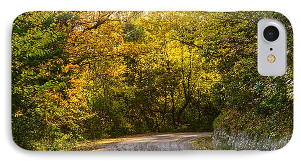 An Autumn Landscape - Hdr 2  IPhone Case by Andrea Mazzocchetti