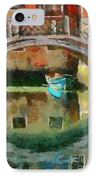 An Early Morning In Venice Phone Case by Dragica  Micki Fortuna