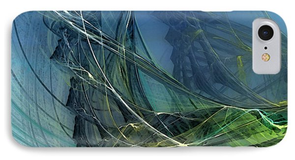 An Echo Of Speed IPhone Case by Karin Kuhlmann