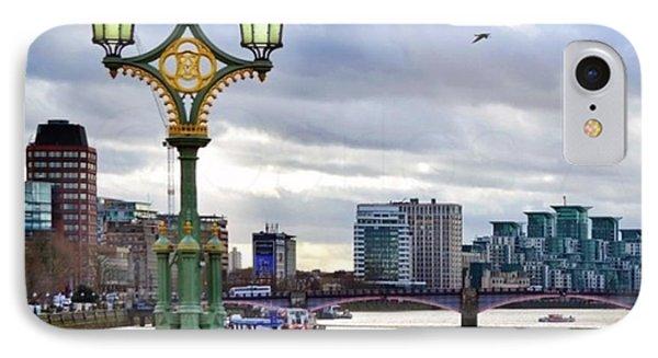London iPhone 7 Case - An Empty Westminster Bridge • #london by Carlos Alkmin