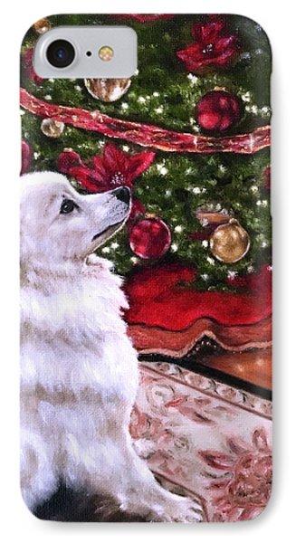 An Eskie Christmas IPhone Case