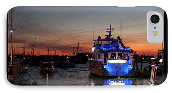 IPhone Case featuring the photograph An Evening In Newport Rhode Island Iv by Suzanne Gaff