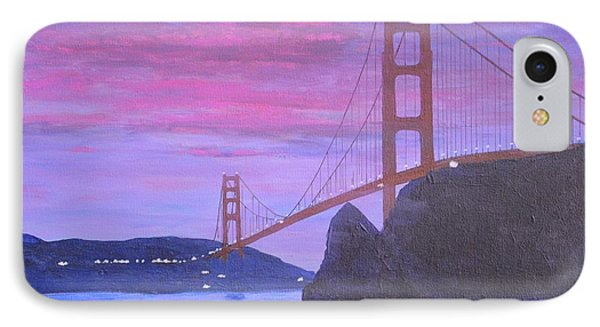 An Evening View From Fort Baker IPhone Case by Paul Larson