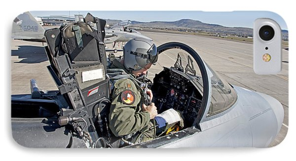 An F-15 Pilot Performs Preflight Checks Phone Case by HIGH-G Productions