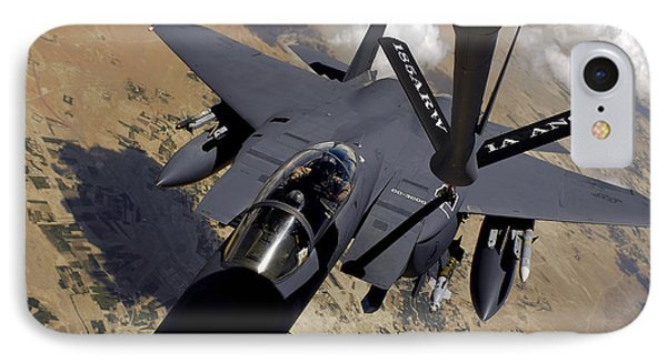 An F-15 Strike Eagle Prepares Phone Case by Stocktrek Images