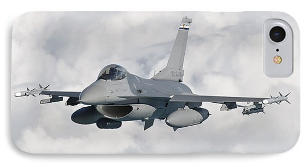 An F-16 From The Colorado Air National Phone Case by Giovanni Colla
