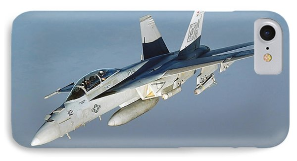 An Fa-18f Super Hornet Conducts Phone Case by Stocktrek Images