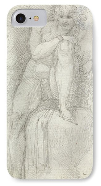 An Hermaphrodite IPhone Case by Henry Fuseli