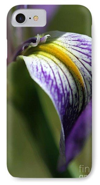 An Iris Petal Phone Case by Sabrina L Ryan