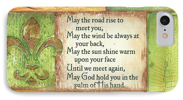 An Irish Blessing IPhone Case by Debbie DeWitt