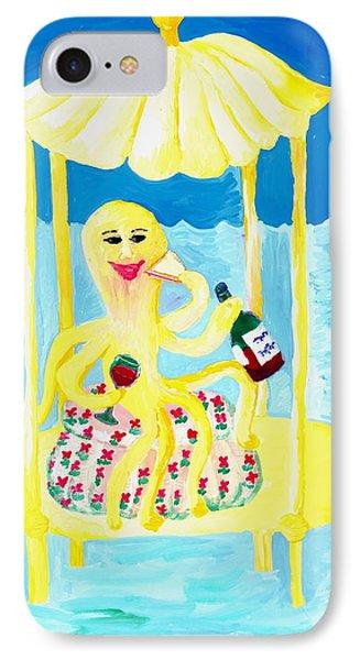 An Octopus Summerhouse IPhone Case