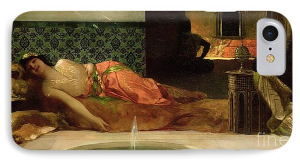 An Odalisque In A Harem IPhone Case by Benjamin Constant