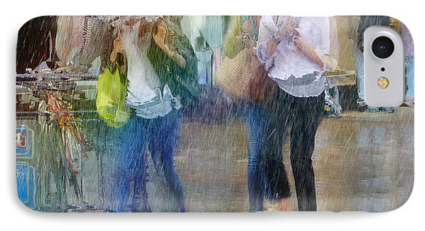 IPhone Case featuring the photograph An Odd Sharp Shower by LemonArt Photography