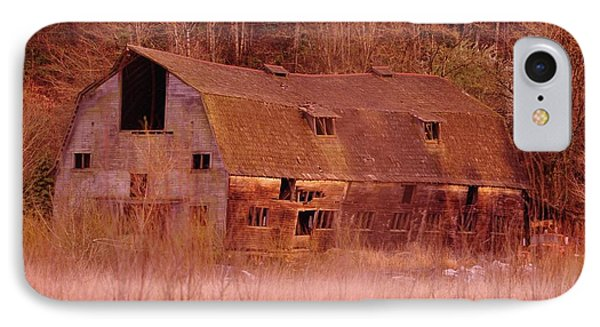 An Old Dairy Barn  IPhone Case by Jeff Swan