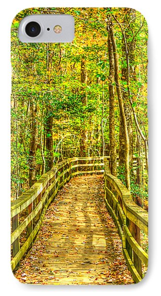 An Old Growth Bottomland Hardwood Forest IPhone Case by Don Mercer