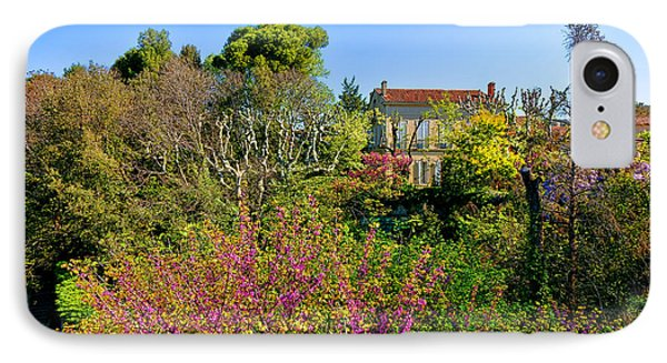 An Old House In Provence IPhone Case by Olivier Le Queinec