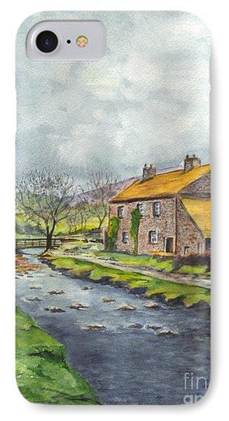 An Old Stone Cottage In Great Britain Phone Case by Carol Wisniewski