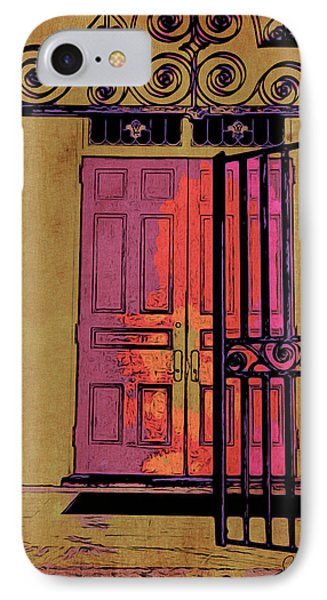 An Open Gate IPhone Case by Joan Reese