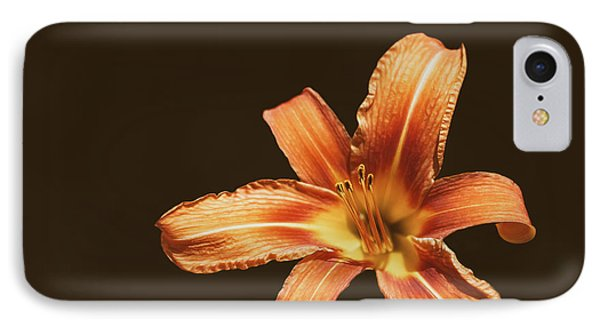 An Orange Lily IPhone Case