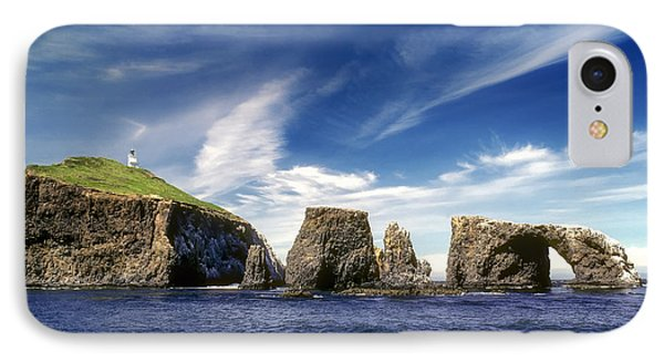 Channel Islands National Park - Anacapa Island IPhone Case by John A Rodriguez