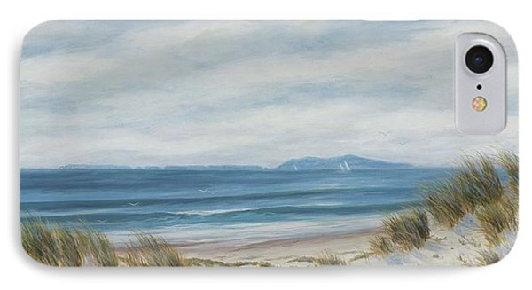 Anacapa Island Thru The Dunes Lll IPhone Case by Tina Obrien