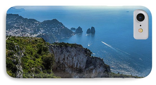 Anacapri On Isle Of Capri IPhone Case