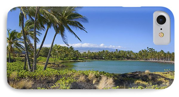 Anaehoomalu Bay Phone Case by Ron Dahlquist - Printscapes