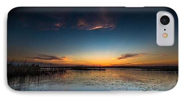 Anahuac Sundown IPhone Case by Allen Biedrzycki