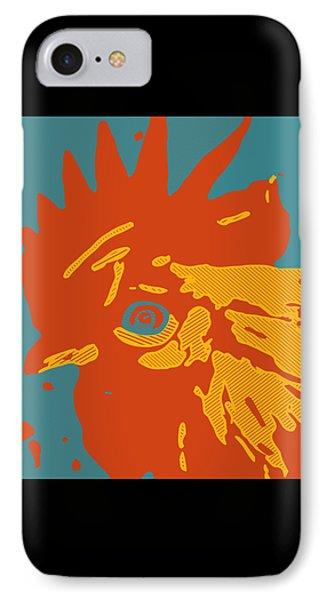 Analog Rooster Rocks IPhone Case