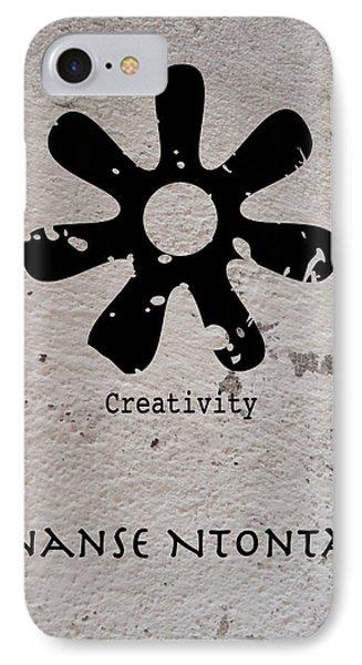 IPhone Case featuring the digital art Ananse Ntontan Adinkra Symbol by Kandy Hurley