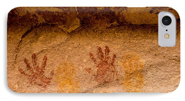 Anasazi Painted Handprints - Utah IPhone Case