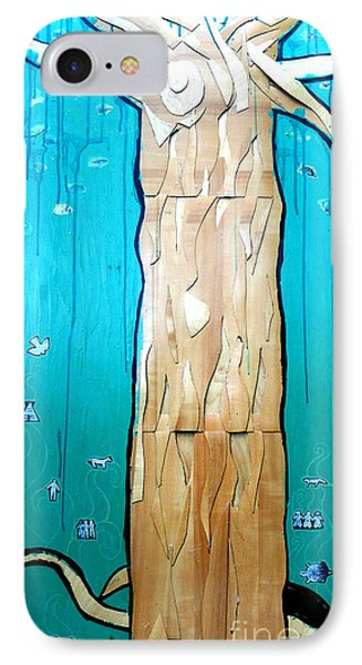 Ancestral Tree Indians To The Sea IPhone Case
