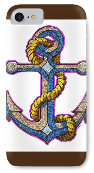 Anchor Colorized IPhone Case