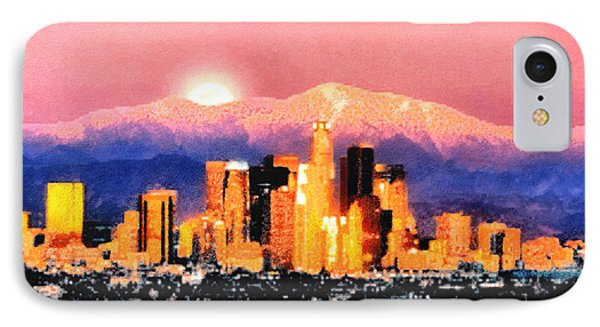 Anchorage - Bright-named IPhone Case by Elaine Ossipov