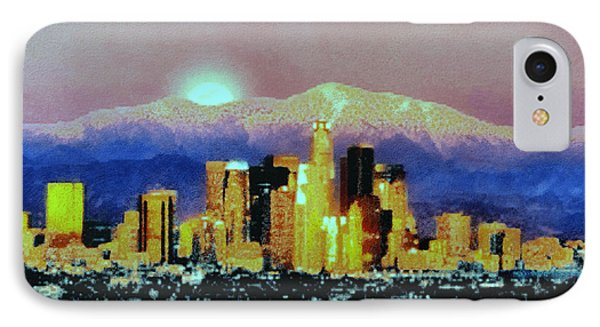 Anchorage-subdued IPhone Case by Elaine Ossipov