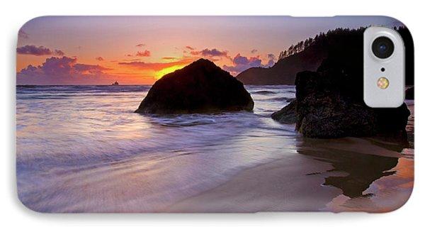 Anchoring The Beach Phone Case by Mike  Dawson