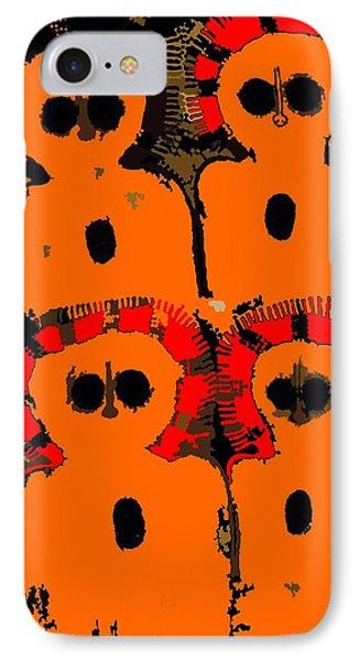 Ancient Aboriginal Aliens IPhone Case by Raphael Terra