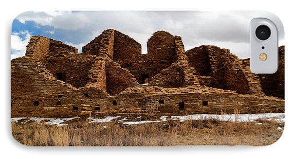Ancient Buildings Chaco Canyon IPhone Case