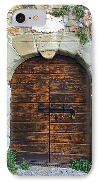 Ancient Castle Castel Door Trieste IPhone Case