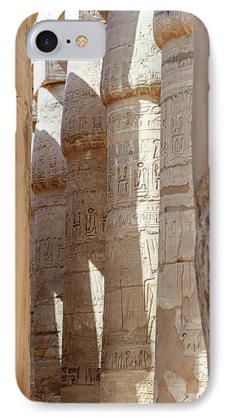 IPhone Case featuring the photograph Ancient Egypt by Silvia Bruno