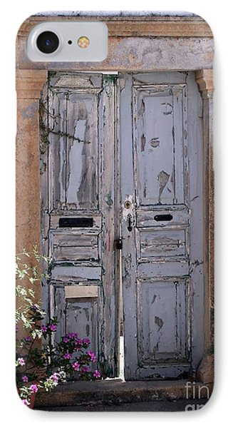 Ancient Garden Doors In Greece Phone Case by Sabrina L Ryan