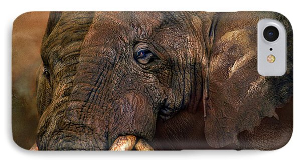 Ancient Giants IPhone Case by Carol Cavalaris