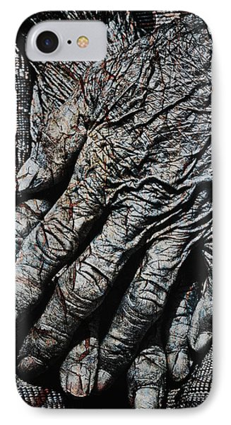 Ancient Hands Phone Case by Skip Nall
