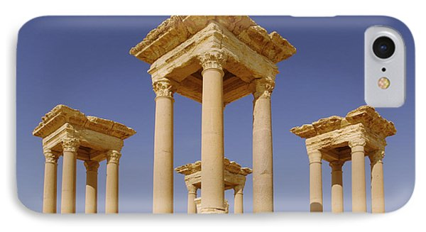 Ancient Palmyra IPhone Case by Roman School