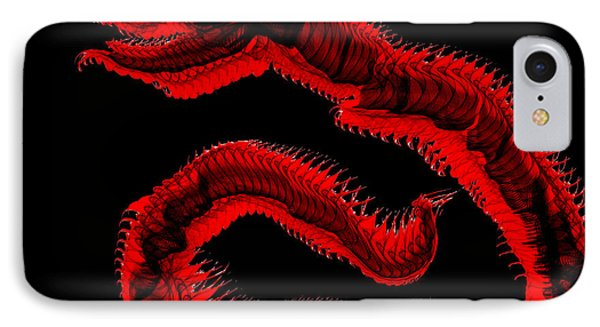 Ancient Serpent Symbol IPhone Case by Abstract Angel Artist Stephen K