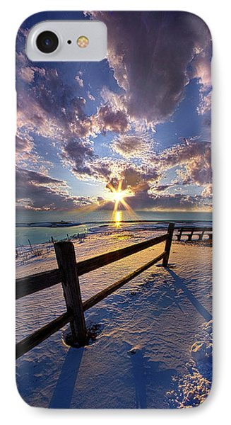 IPhone Case featuring the photograph And I Will Give You Rest. by Phil Koch