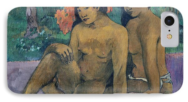 And The Gold Of Their Bodies Phone Case by Paul Gauguin