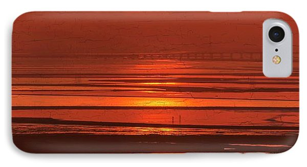 IPhone Case featuring the photograph And The Sea May Look Warm To You Babe by Peter Thoeny